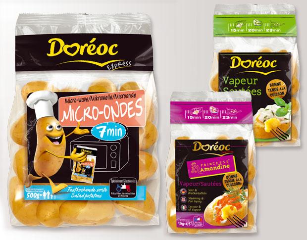 Doréoc, gamme Europe